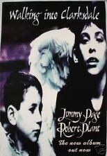"Jimmy Page & Robert Plant ""Clarksdale"" Uk Promo Poster"