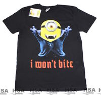 NEW! Mens Minions Despicable Me Tshirt, Size S,M,L,XL Birthday,Novelty Gift