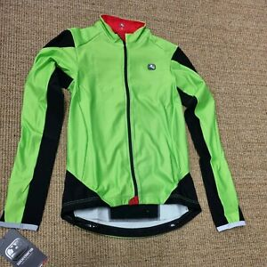 Giordana Womens FRC L/S Jersey - Fluo Green - Small