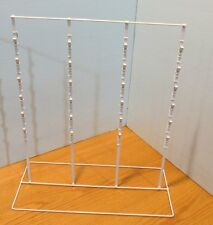 For Sale 10 Counter Chip & Snack Display Rack - 4 Strip 52 Clip (White)