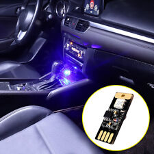 1× Mini USB Colorful Atmosphere Neon Light Voice Control Car Interior Accessory