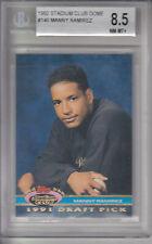 1992 Stadium Club Dome Card #146 Manny Ramirez INDIANS Z16746 - BVG NmMt+ (8.5)