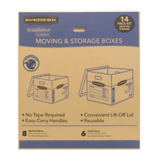 Bankers Box Smoothmove Classic 14 Box Kit 8 Medium6 Larges Moving Packing