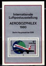 SELLOS AVIACION ALEMANIA DDR 1980 HB 57 2v.