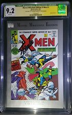 MARVEL MILESTONE X-MEN CGC SS SIGNED BY STAN LEE AND CO-CREATOR JACK KIRBY RARE!