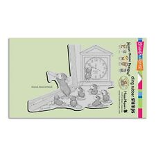 HOUSE MOUSE RUBBER STAMPS CLING TEACHER TIME NEW CLING STAMP