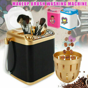 Mini Beauty Blender Automatic Washing Machine Wash & Dry Makeup Brush Clean Toy