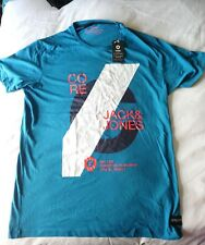 SMITH AND JONESAlex Slim Fit Seaport Blue T-shirt, BNWT Sized Extra Large