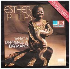 ESTHER PHILLIPS - WHAT A DIFF'RENCE A DAY MAKES - SINGLE VINYL  GUTER ZUSTAND