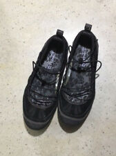 Merrell Womens Sz 9 US Mimosa Cord Black Suede Flats Shoes Slip On Loafers