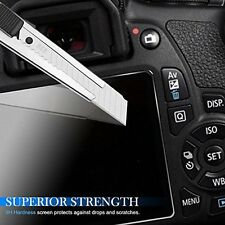 2X Tempered Glass Screen Protector Film For Canon EOS 5D Mark III MK IV 5DS