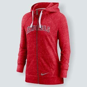 Nike Los Angeles Angels Baseball Hoodie MLB Anaheim Full Zip Jacket Size XL NWT