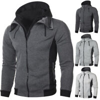 Winter Fashion Men's Hoodie Hooded Sweatshirt Coat Jacket Outwear Jumper Sweater