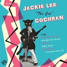 "ROCKABILLY LP: JACKIE LEE COCHRAN-Jackie The Cat   MINIGROOVE RECORDS 10"" LP"