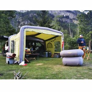Gentle Tent GT Home Van All Season Air Inflatable Motorhome Awning in Green
