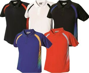 Mens Polo Shirts T Shirt Short Sleeve Tee Casual T-Shirt Wicking Breathable Tops