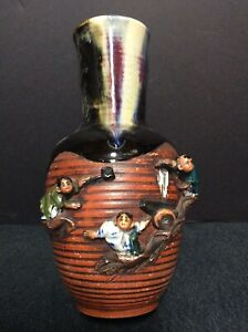 Antique Sumida Gawa Vase