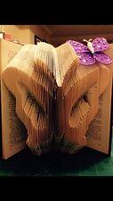 Butterfly Folded Book Art Folding PATTERN ONLY #031
