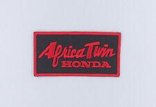 "PATCH TOPPA ""HONDA AFRICA TWIN"" RICAMATA cm 9 x 4,5 TERMOADESIVA"