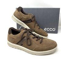 ECCO Men's Sneakers Ennio Cocoa Suede  Brown 534374 01482