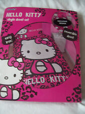 NEW HELLO KITTY Girls Bedding Duvet Cover Set SINGLE BED*REVERSIBLE BNIP