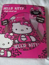 NEW HELLO KITTY Girls Bedding Duvet Cover Set SINGLE BED*REVERSIBLE BNIP