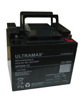ULTRAMAX NPG50-12 - 12V 50Ah 'AGM' DEEP CYCLE GEL BATTERY - SOLAR POWER STORAGE