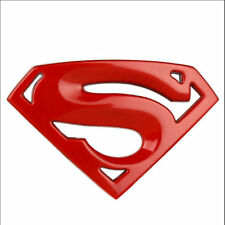 3D Superman Chrome Metal Auto Car Motorcycle Logo Sticker Badge Emblem Decals