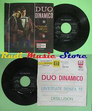 LP 45 7'' DUO DINAMICO Un'estate senza te Desilusion 1965 italy LA VOCE no cd mc