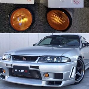 R34 Tommy Kaira Oem Indicator Amber Signal TURN Light Set R33 GTR Skyline JDM