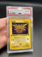 PSA 10 1st Edition Zapdos 30/62 Fossil Set Pokemon Card VINTAGE WOTC