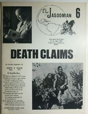 JASOOMIAN #6 (1972) Edgar Rice Burroughs fanzine with photos, Clyde Caldwell VG+