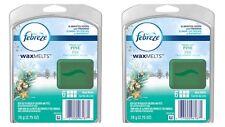 2X Sets Febreze Fresh Cut Pine Scented Wax Melts - 12 Melts Total; DISCONTINUED
