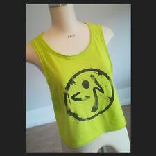 ✴️ Zumba Wear Cropped Shirt✴️Gr. S ✴️ Fitness/Sport- Shirt ✴️ Zumba-Green ✴️