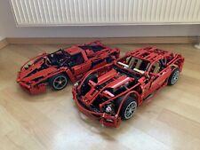 Lego Technic Racers 599GTB Ferrari 8145 und Ferrari Enzo 8653