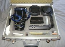 rare mamiya rz67 film camera lenses + original case complete set