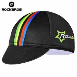 RockBros Bicycle Cycling Cap Hat Riding Suncap Lattice Black Sunhat Cap