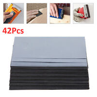 42X Wet and Dry Waterproof Sandpaper 120-3000 Grit Sheets Rectangle Sander Paper