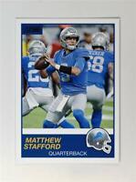 2019 Score Football Base #213 Matthew Stafford - Detroit Lions