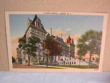 State Capital Building Albany N.Y. Vtg. Postcard  T*