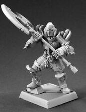 GOLDEN GARDIAN - PATHFINDER REAPER figurine miniature rpg jdr metal plate 60142