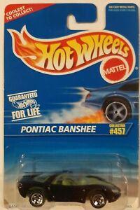 NEW Vtg 1997 Hot Wheels Diecast 1:64, Pontiac Banshee Collector #457, Purple