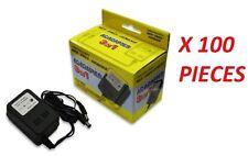 100 X WHOLESALE LOT - NES SNES SUPER NINTENDO AC POWER SUPPLY ADAPTER CORDS NEW