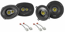 "Kicker 6x9""+5.25"" CSC Speaker Replacement Kit For 2006-2009 Dodge Ram 2500/3500"