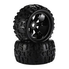 2pcs 1:8 Monster Truck RC Car Replacement Tire & Wheel for HSP Traxxas Parts