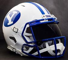 BRIGHAM YOUNG BYU COUGARS Gameday REPLICA Football Helmet w/ OAKLEY Eye Shield
