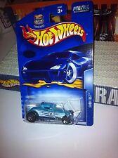 2003 Hot Wheels SOOO FAST ERROR CARD Number Missing 35th Teal Hot Rod MOC