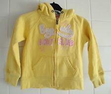 H&M LOGG Kids Yellow Hoodie Zip Top Jacket Age 2-4 Years Eur 98/104 cm Girls