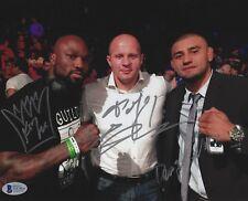 Fedor Emelianenko King Mo & Douglas Lima Signed 8x10 Photo BAS COA Bellator MMA