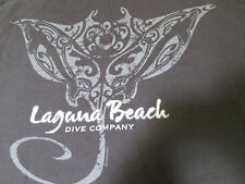 Classic Crazy Shirt Hawaii Manta Ray Laguna Beach Dive Company California L